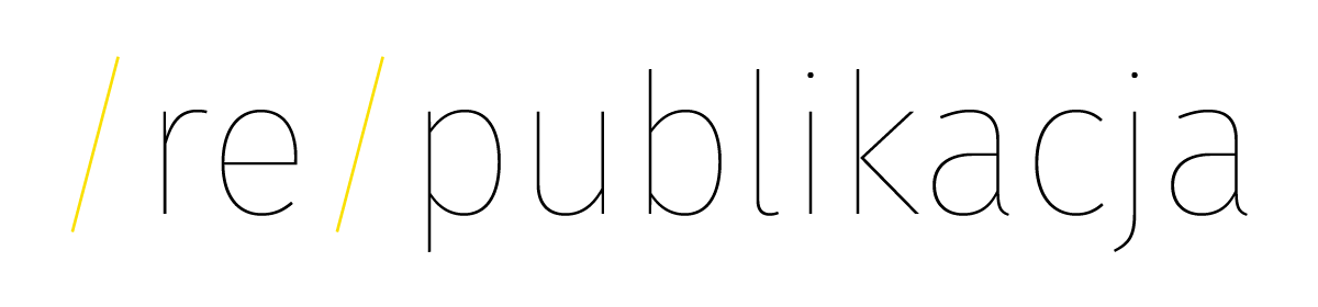(re)publikacja